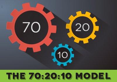 70-20-10 e-learning model
